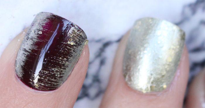 golden edition isadora nagellack nails nagel tutorial hiilen sminkblgg skönhetsblogg3