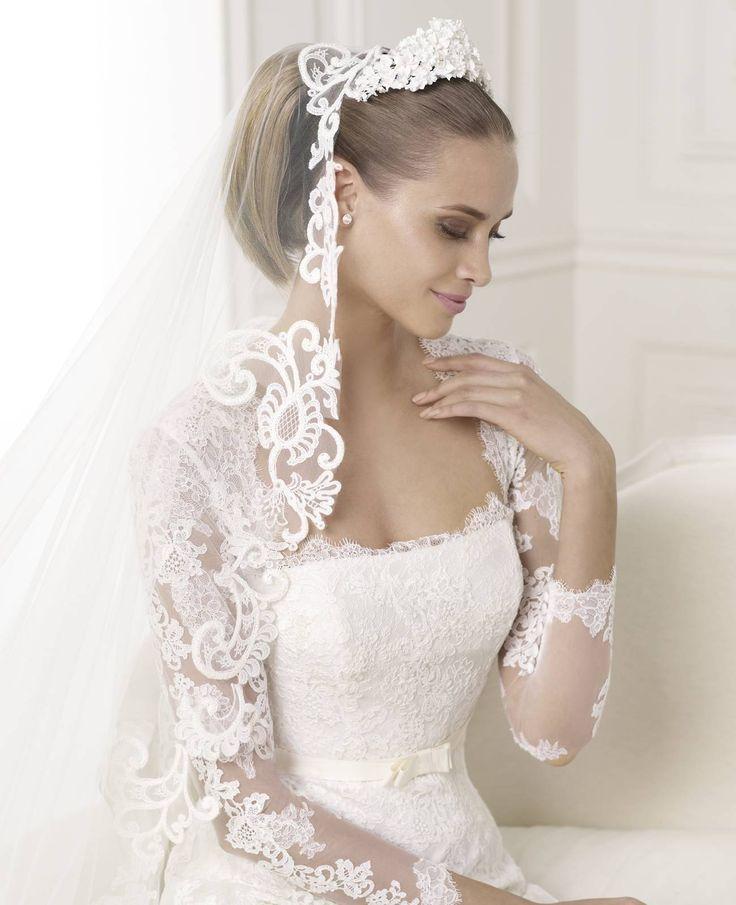 Basico esküvői ruha - Pronovias kollekció http://lamariee.hu/eskuvoi-ruha/pronovias/basico