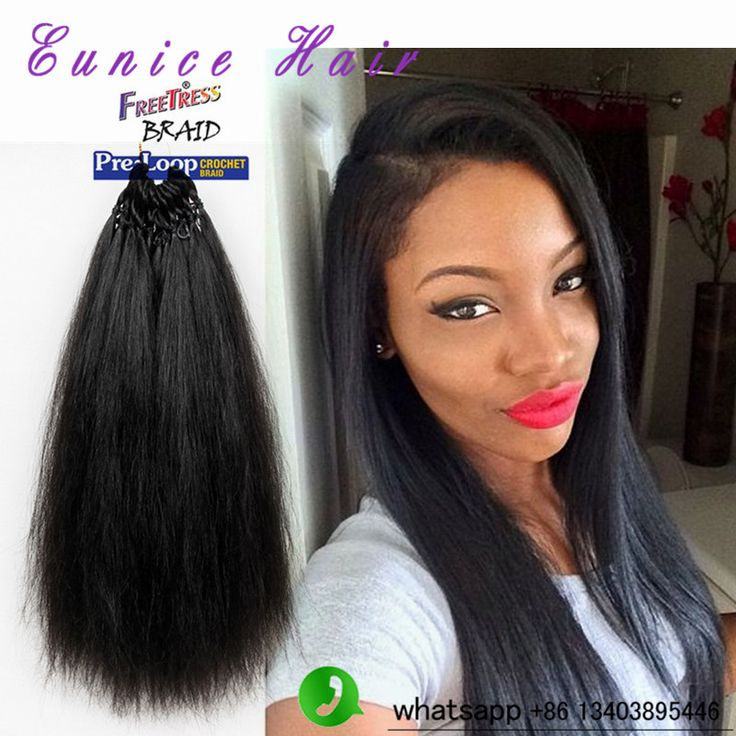 Malaysian Kinky Straight remy Hair Yaki synthetic hair Extensions