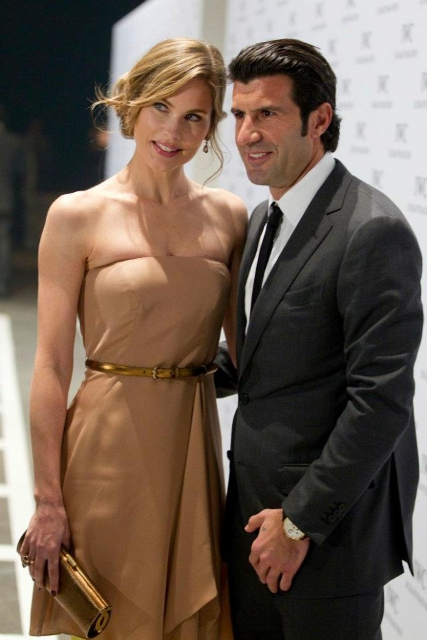 #Football / Soccer superstar Luis Figo for IWC Watches