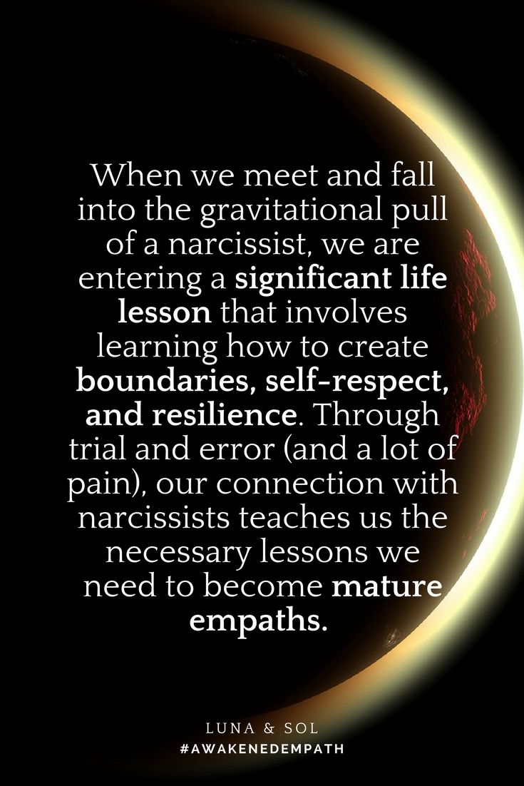 "The empath and narcissist connection. >>This quote is from the book ""Awakened Empath"" (click for more info)."