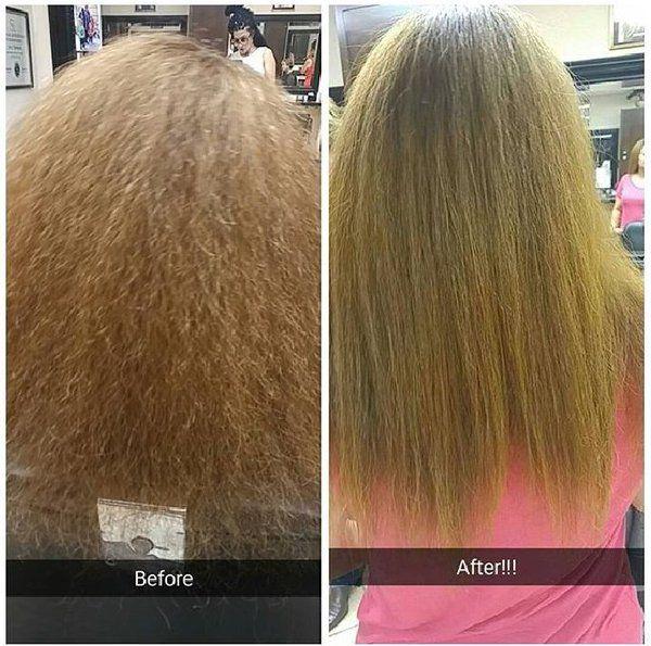 Seacret's Pro Styling Hair Straightener #beforeandafter