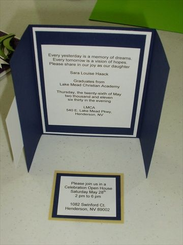graduation invitation paper Check out these quick and easy graduation card and invitation ideas each celebratory project offers an inspiring way to say congratulations.