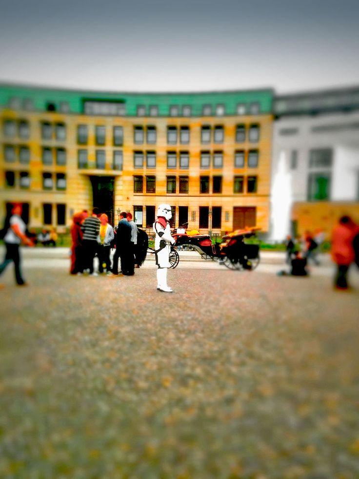 Lonely Storm Trooper, by Jürgen Novotny #starwars #trooper #juergennovotny #berlin