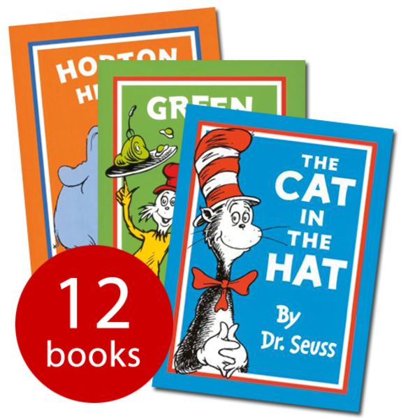 Dr Seuss Collection In A Bag - 12 Books(Paperback):9780007923489