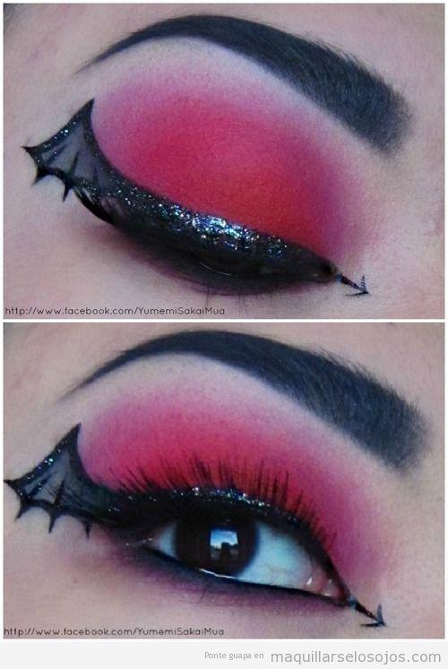 maquillaje-ojos-carnaval-vampira-telaraña.jpg (500×747)