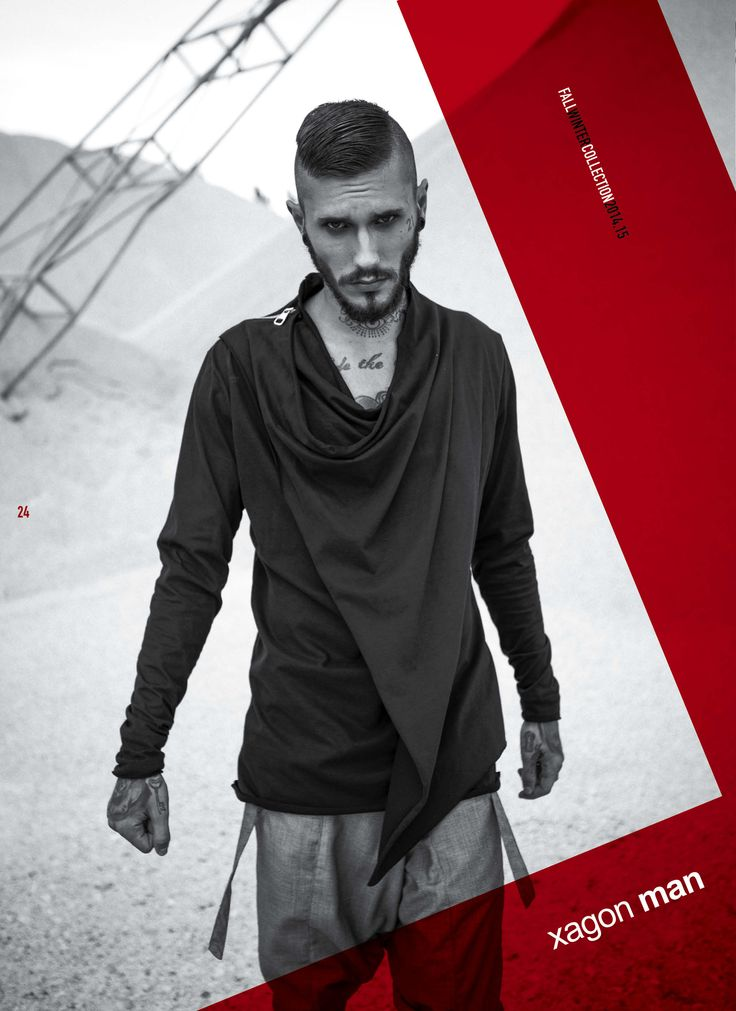 Lightweight and easy to wear right now! The new shirt from #GROUNDSOUL #fallwinter 14/15 #xagonman