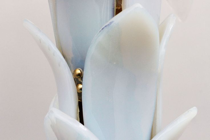 LAMPADA A PALMA IN VETRO - Marco Polo - Antiques online -