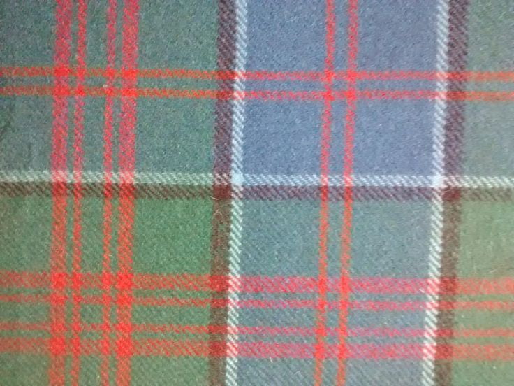 VINTAGE TARTAN FABRIC - Ancient Stewart of Appin - 100% wool - Heavy Weight by Puddledub on Etsy