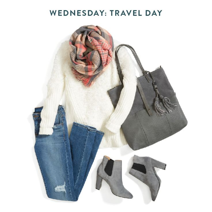 Whether your travel time for Thanksgiving is 25 minutes or 5 hours, the best way to get there is in comfort (and style doesn't hurt either). A good rule of thumb? Always travel with a scarf. It's an easy way to stay warm if you get the chills & is small enough to put in your handbag if it's not needed.