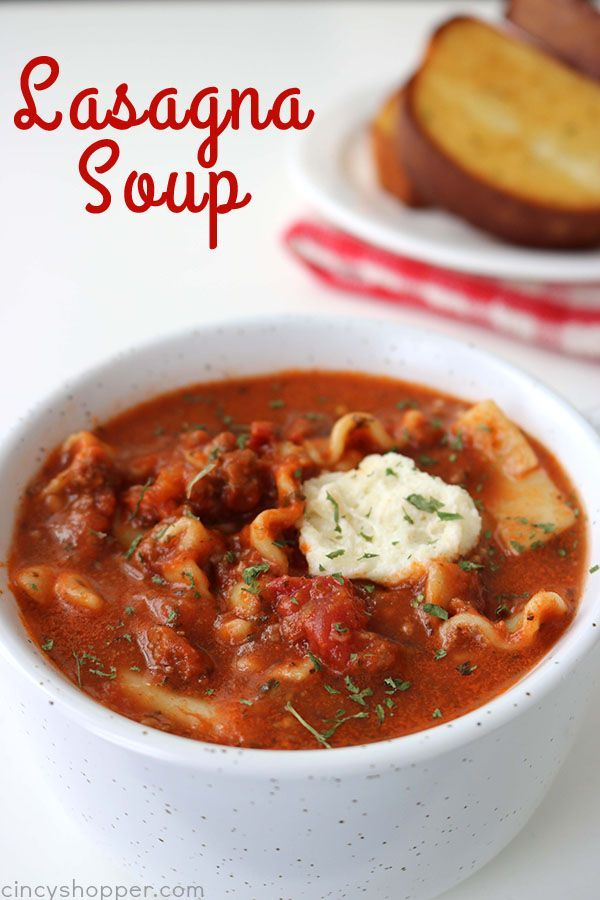 If you are fan of Lasagna, you are going to want to make this Easy Lasagna Soup. You will find all the great flavors of traditional lasagna right in a bowl. Perfect on a cold winter day! Lasagna Soup It is snowing and cold here today in Cincinnati. My kiddos actually had a snow day....Read More