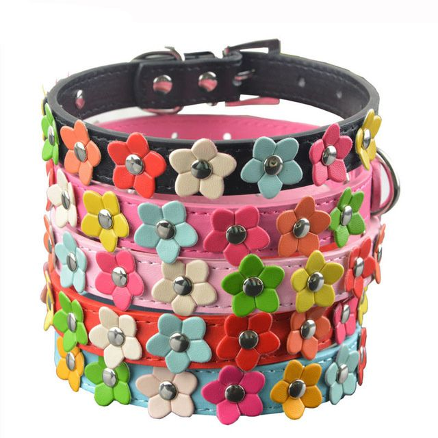 Check out the savings on this Flower Power Dog Collar     FREE worldwide shipping    https://www.pawsify.com/product/flower-power-dog-collar/