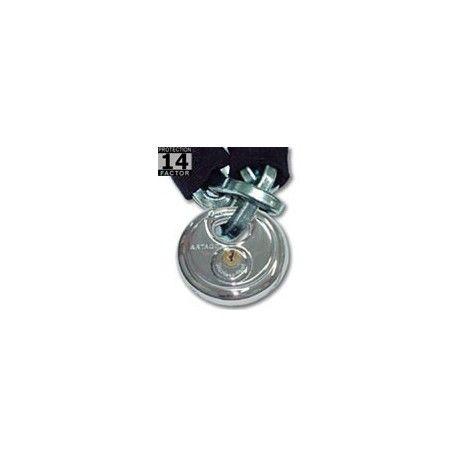 Cadena Maxton Urban CD Referencia  CD100 Marca:  Artago Secure  Cadena alta calidad ø 8mm de acero endurecido antisierra. Con funda de tela sintetica para mayor flexibilidad. Candado A-CD