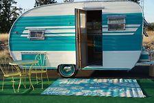 Restored 1955 Gibson 14ft travel trailer canned ham camper glamper  NO RESERVE