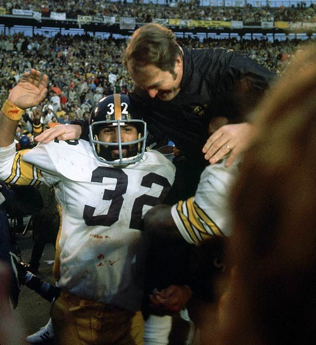 Franco Harris and Chuck Noll - Classic Photos of the Pittsburgh Steelers - Photos - SI.com