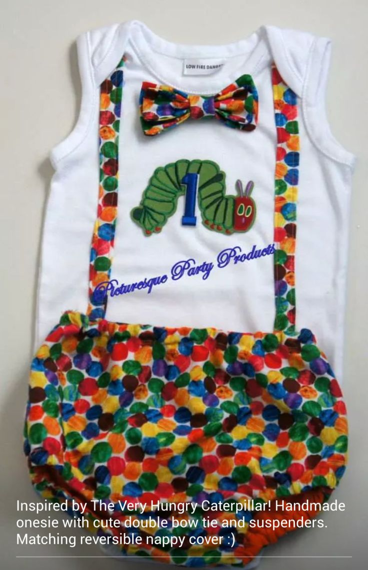 The Very Hungry Caterpillar Birthday Onesie by PicturesqueParty, $45.00