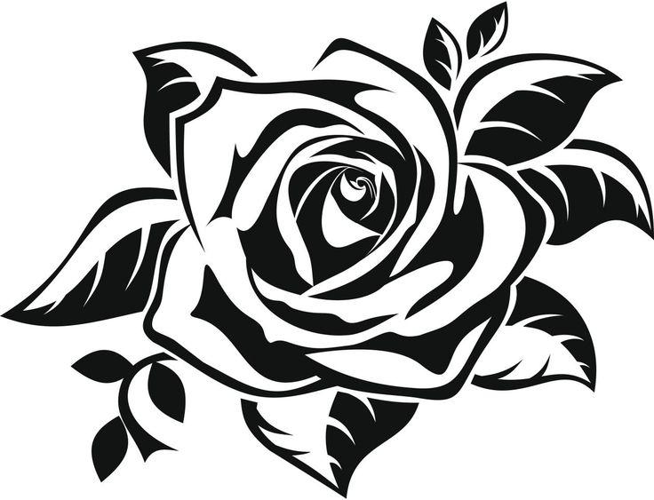 Ms de 25 ideas increbles sobre Dibujos de rosas en Pinterest