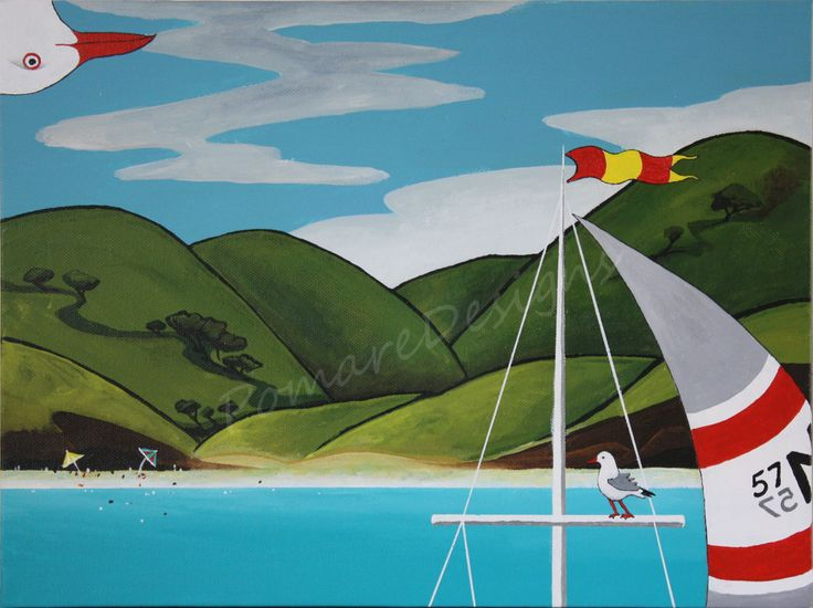 A Summer Day in Spinnaker Bay - SOLD