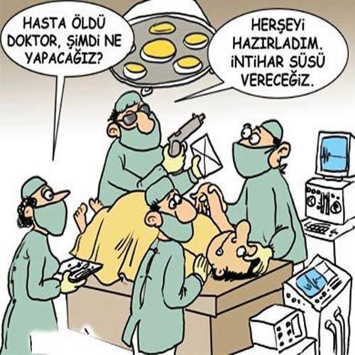 İntihar Süsü Vereceğiz! - Karikatür   Komik Karikatürler 2013   Komik Resimler