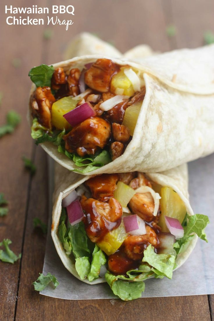 Nothing better than a little Hawaiian twist to BBQ chicken, layered inside a tasty wrap! These Hawaiian BBQ Chicken Wraps are EASY, healthy and delicious. This is one of those meals that was created during the panic mode of needing something to feed my family for dinner that they would like, that I had the stuff... Read More »