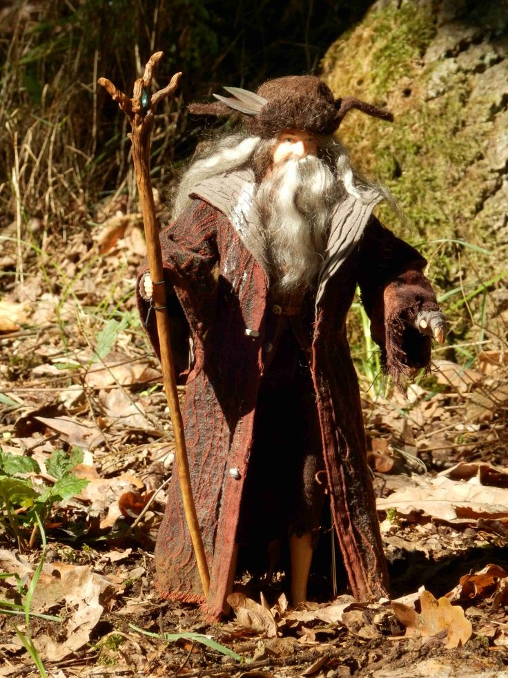The costume for the Radagast brown. Made for 1/6 scale doll. Made by Juditheart