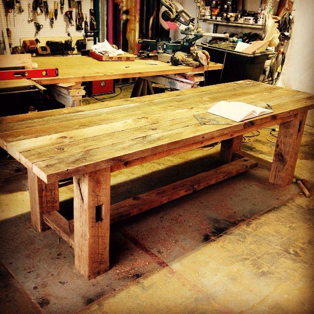 Tamarack Table. 9ft