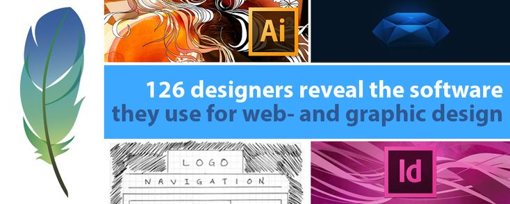 Best web design software and graphic design software revealed by 126 designers