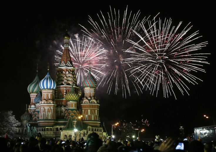 La celebración en la Plaza Roja, en Moscú. | EFE.