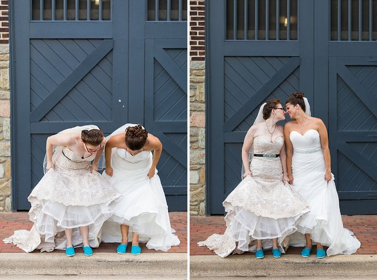 Kristin & Breana's Intimate, Colorful Wedding at Hotel Monaco in Alexandria, VA | Capitol Romance ~ Real DC Weddings | Images: Gosling Photography
