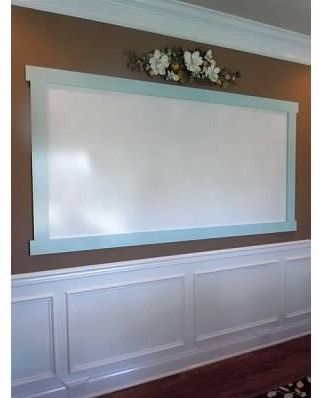 """Ideas for using """"showerboard"""" dry erase boards anywhere in your home."""