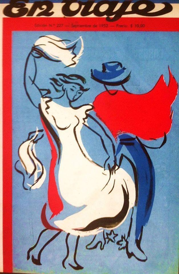 """1952. Portada Revista """" En Viaje """". Edición Nº 227."""