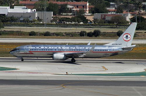 Special Livery, American Airlines - Retro, Boeing 737-800