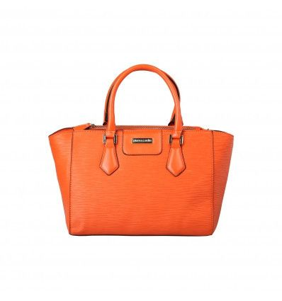 PIERRE CARDIN Orange Handbag - MyaBelle - 1