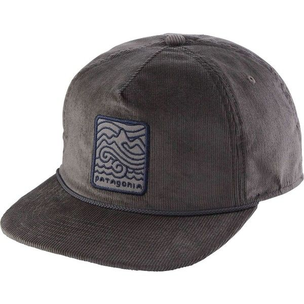 Patagonia Seazy Breezy Corduroy Snapback Hat featuring polyvore, women's fashion, accessories, hats, patagonia snapback, corduroy snapback hat, snapback hats, snap back hats and patagonia hats