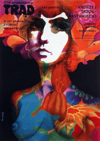 Trad - Leprosy, Polish Movie Poster Polish film. designer: Tomasz Ruminski (1971)