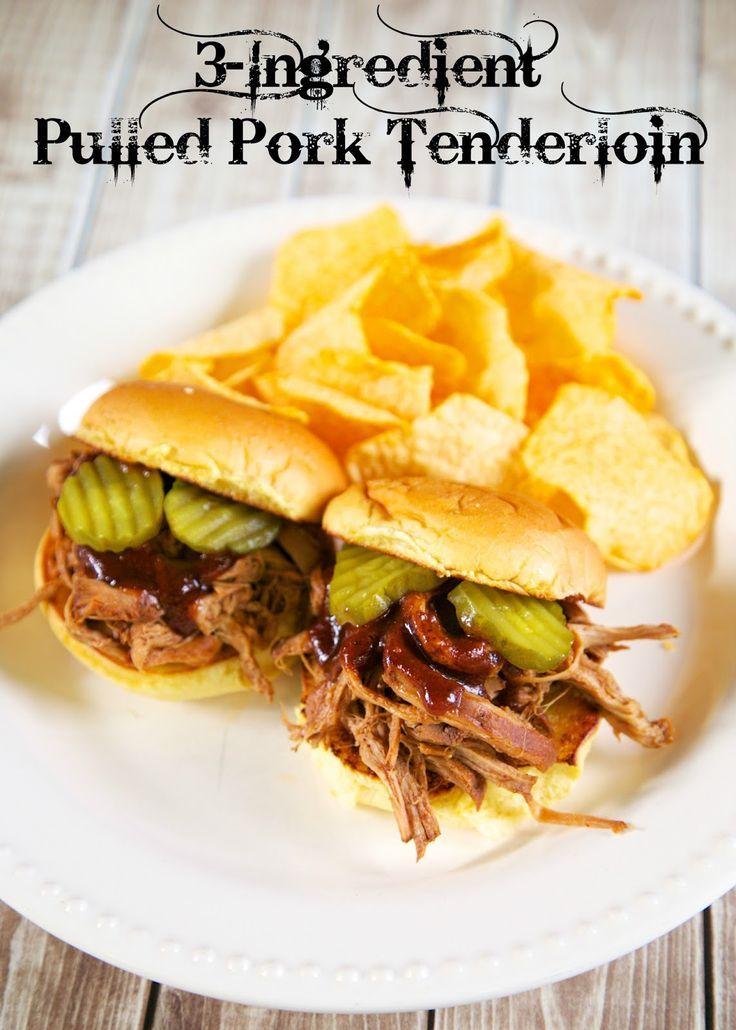ingredient pulled pork tenderloin slow cooker slow cooker pork ...