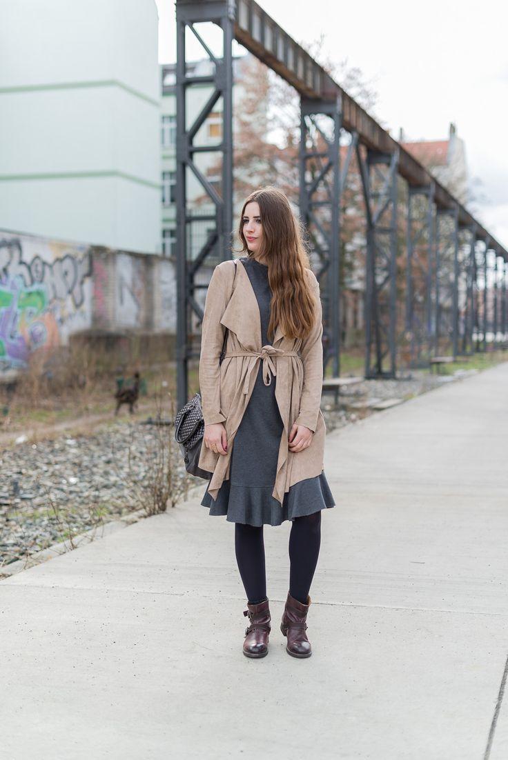 Fashionblogger Outfit Zara Kleid