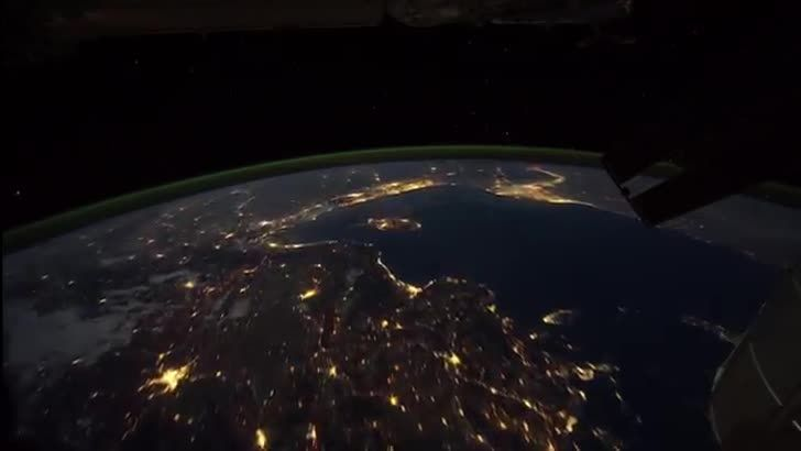 Filmed from the International Space Station, this time-lapse video released by NASA gives us an opportunity to view our planet from a unique perspective.