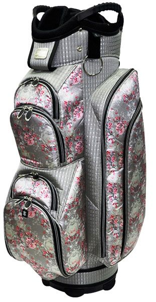 Our new beautifully constructed Cherry Blossom RJ Sports Ladies Emerald Golf Cart Bag has arrived!