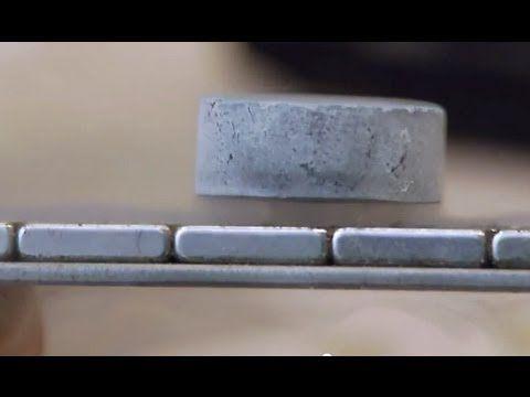Levitating Superconductor on a Möbius strip
