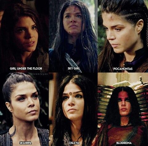 Octavia Blake #the100   tv: the 100 in 2019   The 100 cast