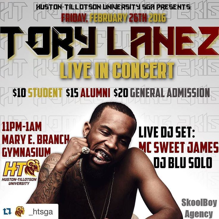 Get your tickets for the Tory Lanez concert! $10 for students-$15 for Alum-$20 General & at the door. Hit up @friday_howard @zay_2smoove and @taleahtherese #Repost @_htsga by be_ht