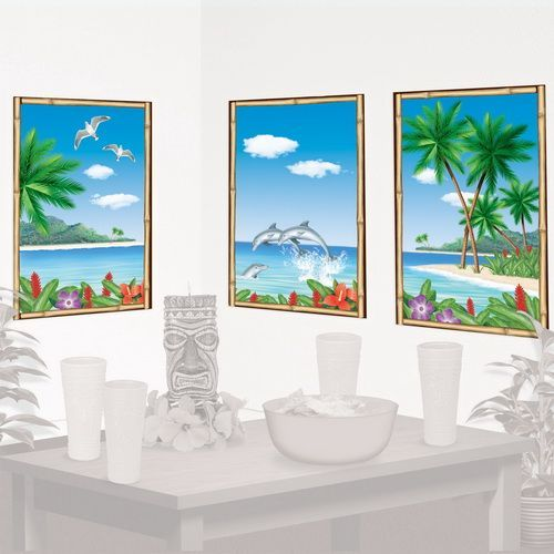 Tropical Window View Add-Ons