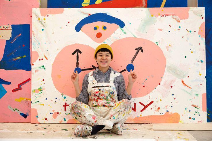 Studio Visit with Artist Misaki Kawai-Wmag