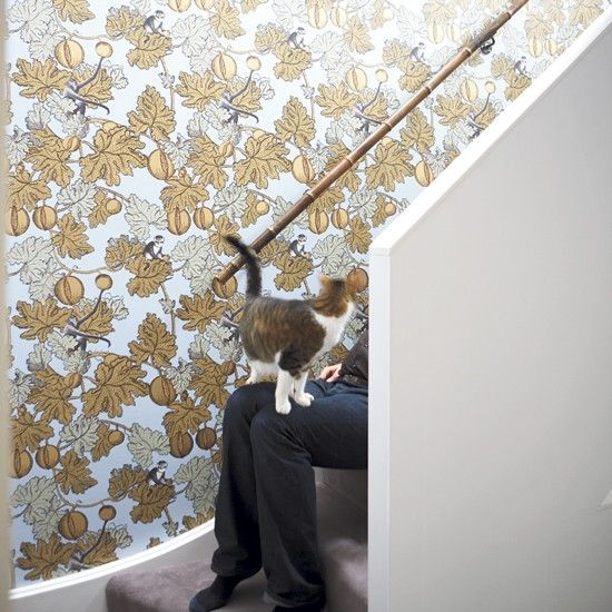 Hallway   Elegant modern home   House tour   Modern decorating ideas    PHOTO GALLERY. Best 25  Wallpaper for home ideas on Pinterest   Wallpaper design