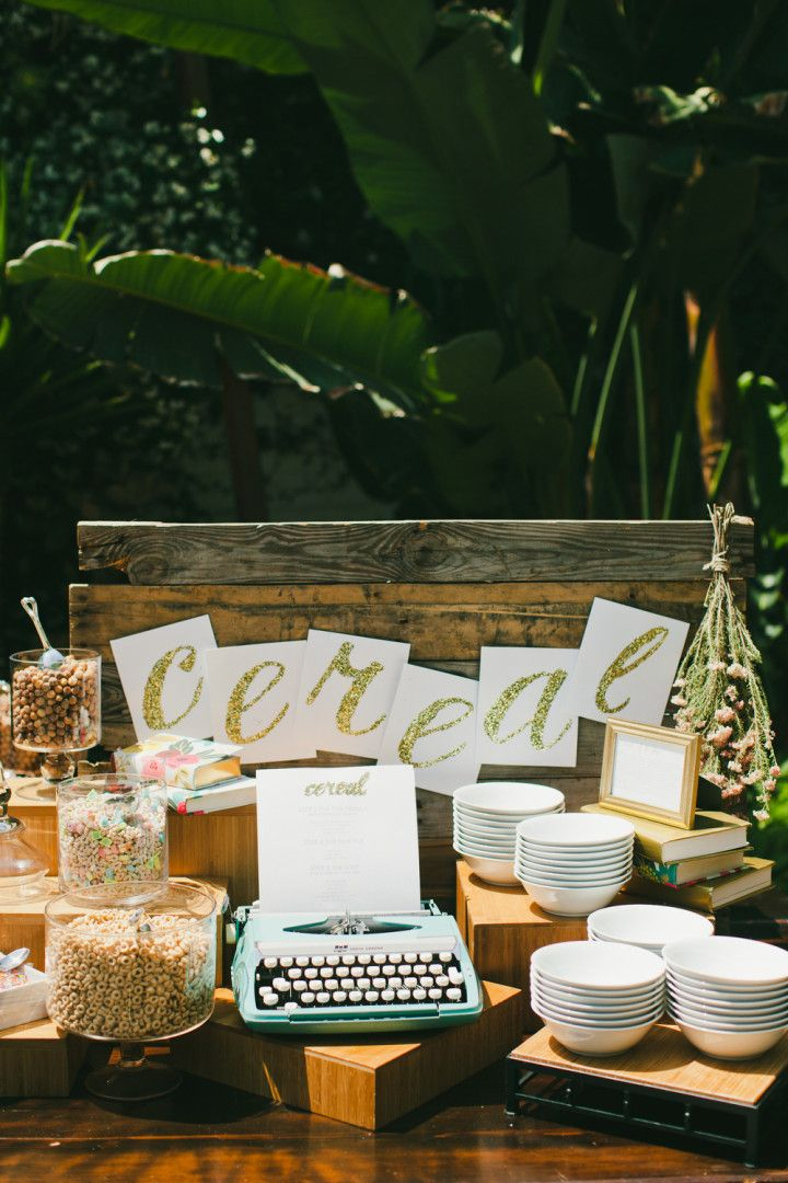 Genius Brunch Idea at Los Angeles Wedding - MODwedding