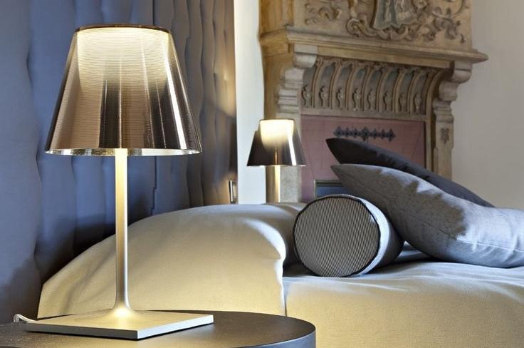 KTribe Table Lamp in Aluminized Silver