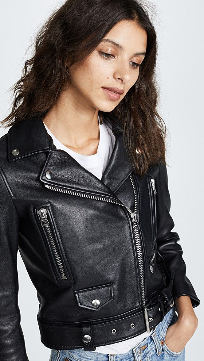 aae0e7d1c Leather Mock Jacket in 2019 | Fashion | Jackets, Leather, Long ...