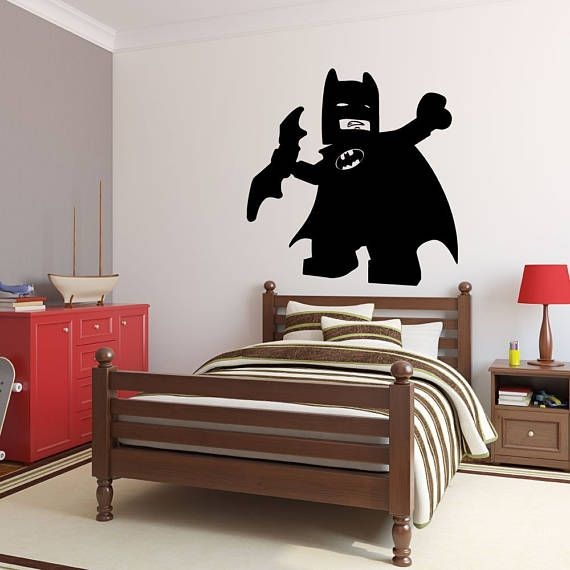 Lego Batman Decal - DC Comics Superheroes Vinyl Wall Art