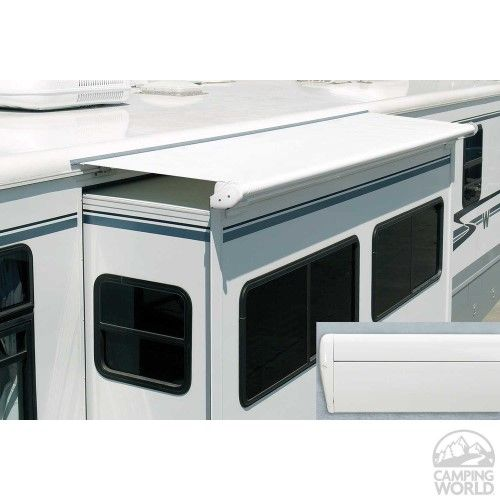 Carefree Co Slide Out Awning 14 Ft 5 In Length X 42 In Extension White Rv Trailer Living Rv Camping